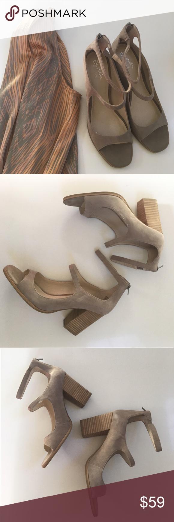 NWOT { Seychelles} heels Seychelles heels in suede, comfy ...
