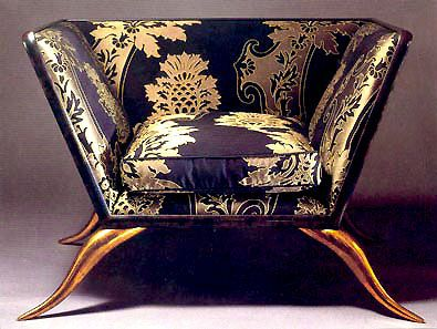 BRONZE ARMCHAIR | Upholstered chairs, Funky chairs, Furniture