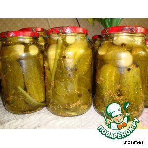 рецепт маринованных огурцов рецепт с фото