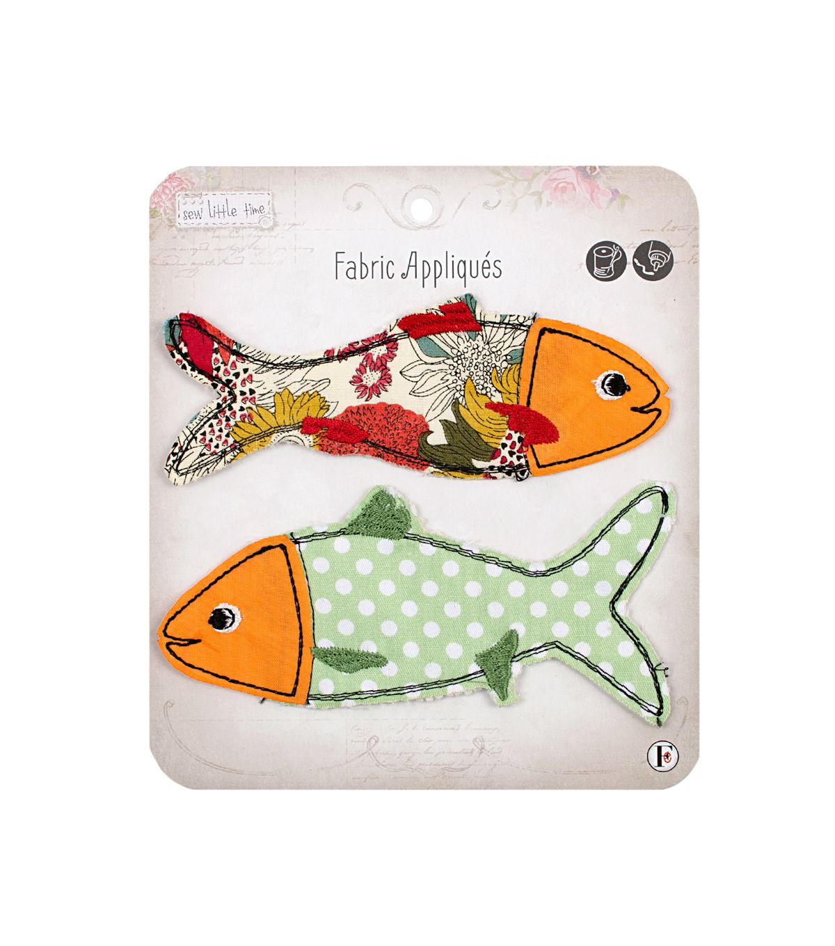 Sew Little Time Fish applique available at Joann's Craft