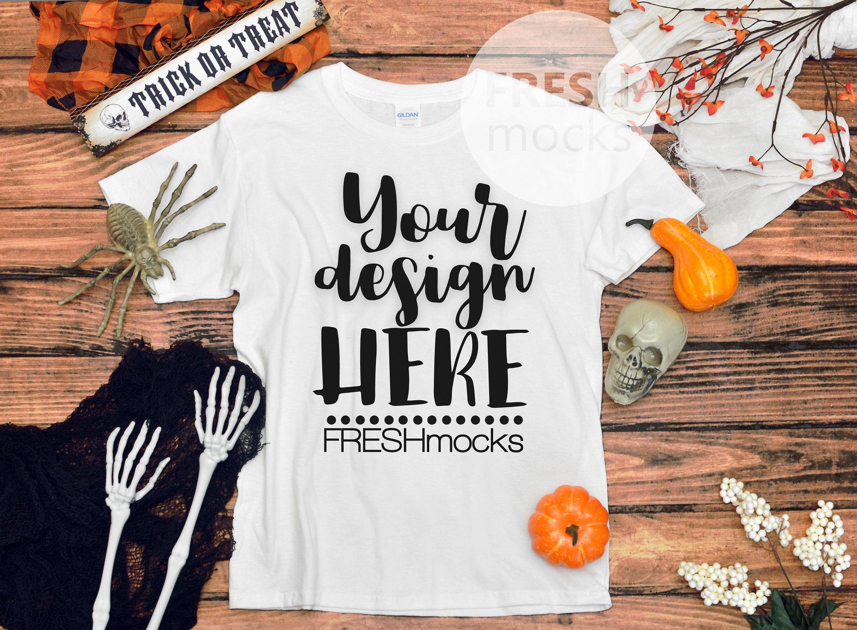 Gildan G500b Youth Unisex Tshirt T Shirt Tee Fall Halloween Etsy Unisex Tshirt Tee Shirts T Shirts For Women
