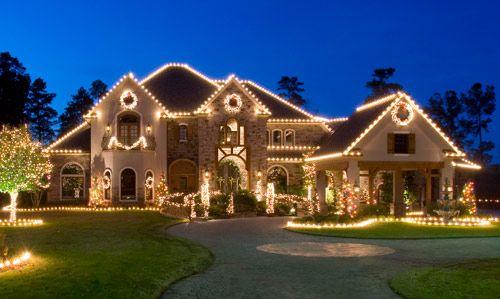 Outdoor Christmas Light Display Ideas Weihnachten Haus Dekoration Weihnachten Im Freien Weihnachtliches Zuhause