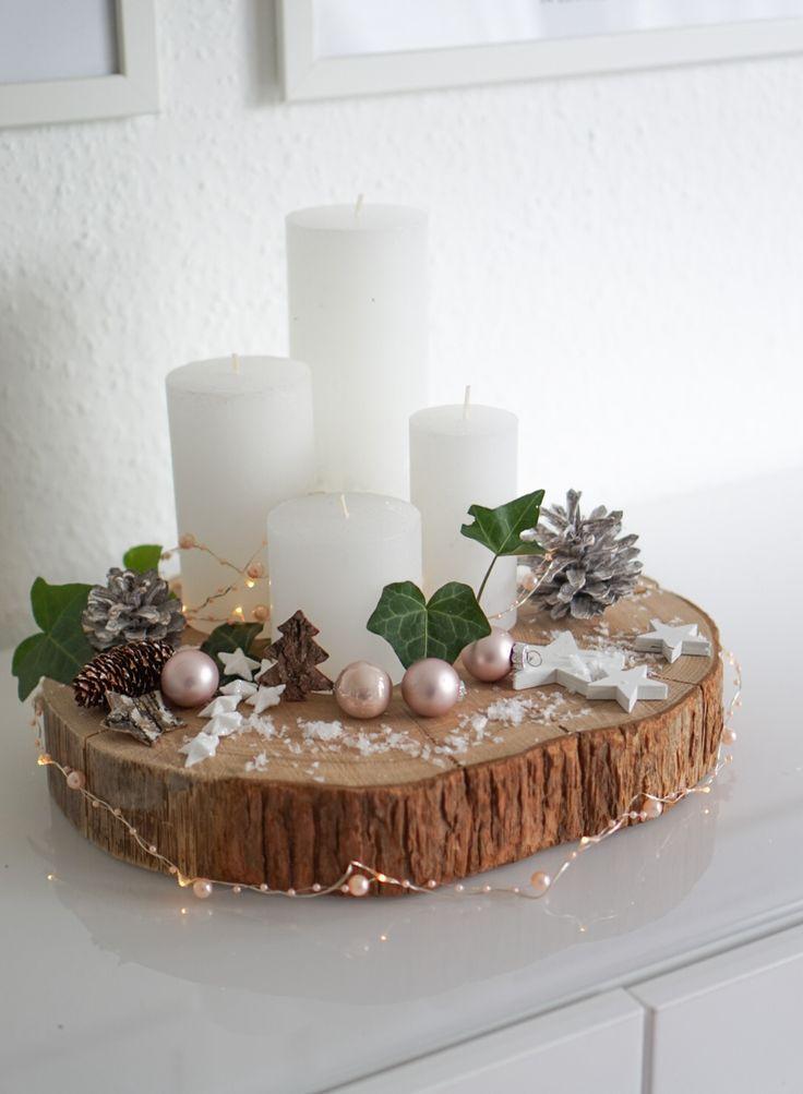 Adventskranz DIY. Weihnachten, Weihnachtsfeier #adventwreath