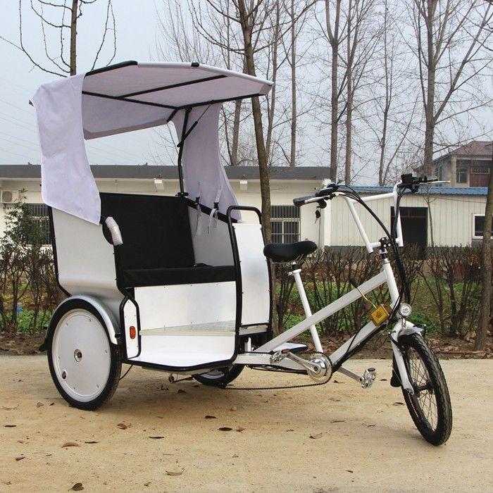 Rain Cover Battery Pedicab Taxi Passenger Tricycles Ester Pedicab