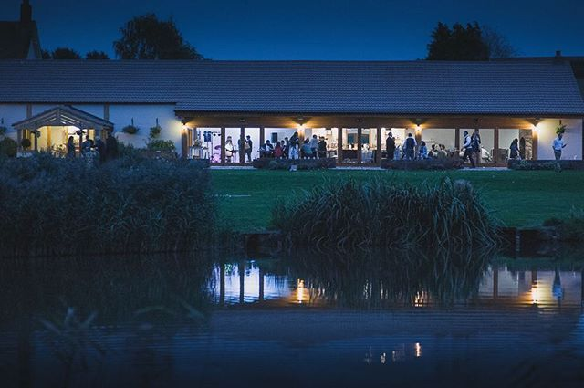 Summer nights at @quantocklakesuk by @marclegalle #dreamingofsummer #summernights #dream #barn #wedding #venue #somerset #bridebook #engaged #isaidyes