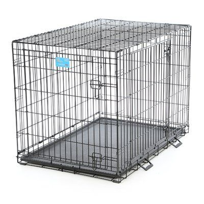 Midwest Homes For Pets Life Stages Fold Carry Double Door Pet Crate Size Large 31 H X 42 W X 28 D In 2020 Pet Crate Furniture Pet Crate Crate Furniture