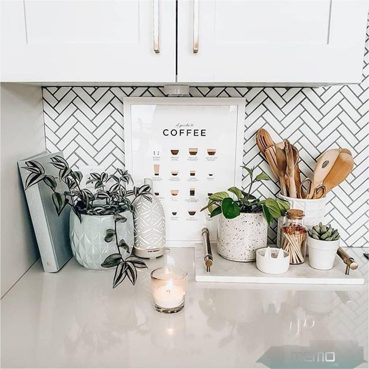 May 30 2020 This Pin Was Discovered By Franzi Discover And Save Your Own Pins On Pinterest Kitc Counter Decor Kitchen Counter Decor Small Kitchen Decor
