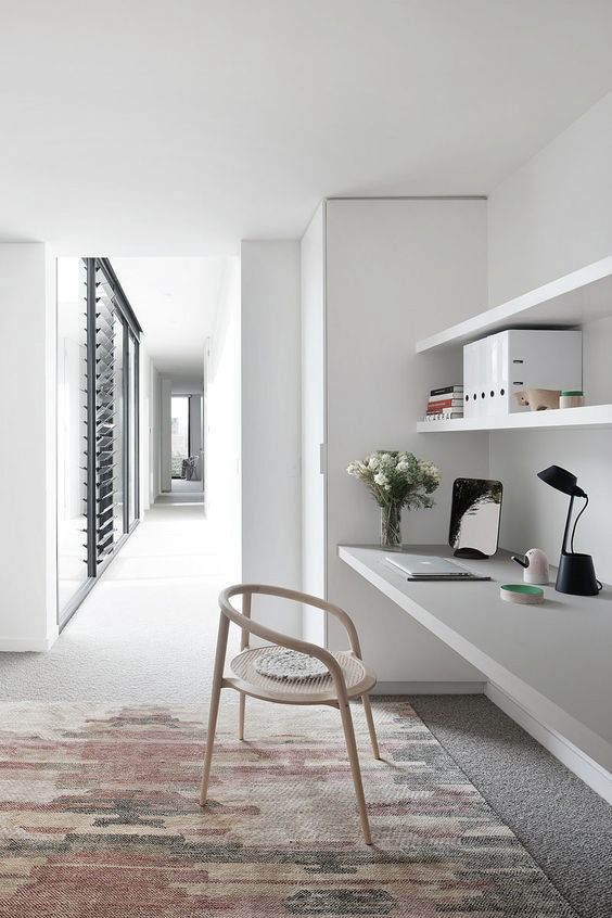 30+ Modern Computer Desk and Bookcase Designs Ideas For Your Stylish ...