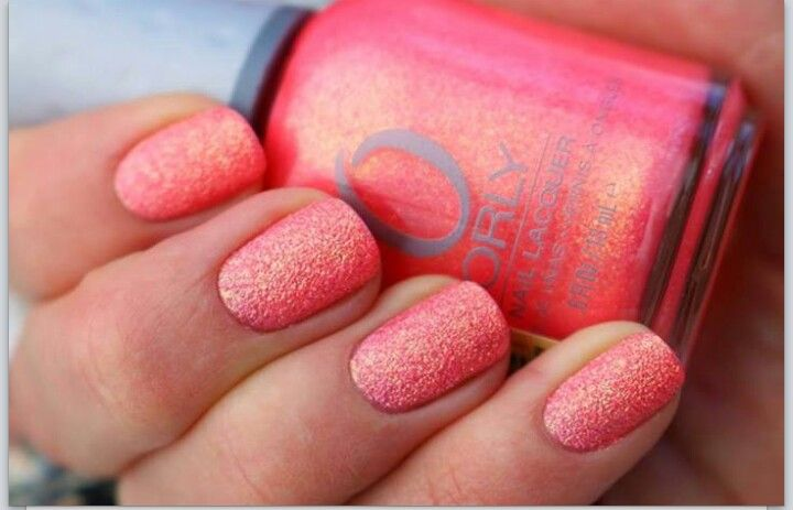 Orly just peaches