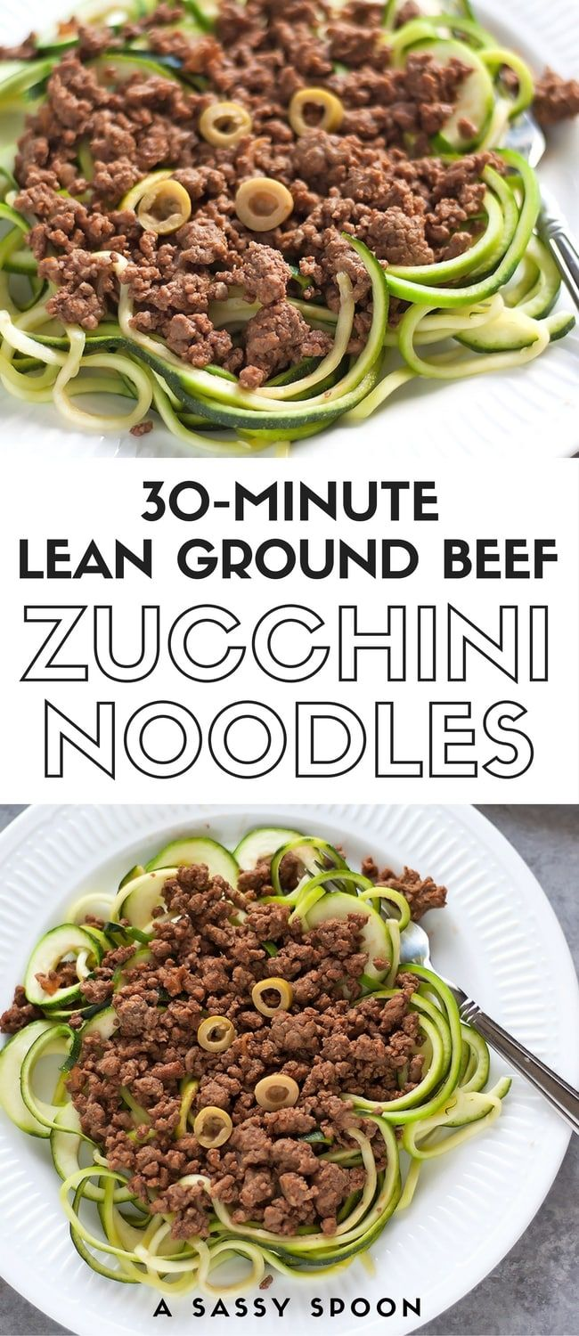 Lean Ground Beef Over Zucchini Noodles Lean Ground Beef Made Cuban Style Served Over Spiralized Sauteed Zucchini Noodles A Qu Healthy Beef Recipes Dinner With Ground Beef Healthy Ground Beef