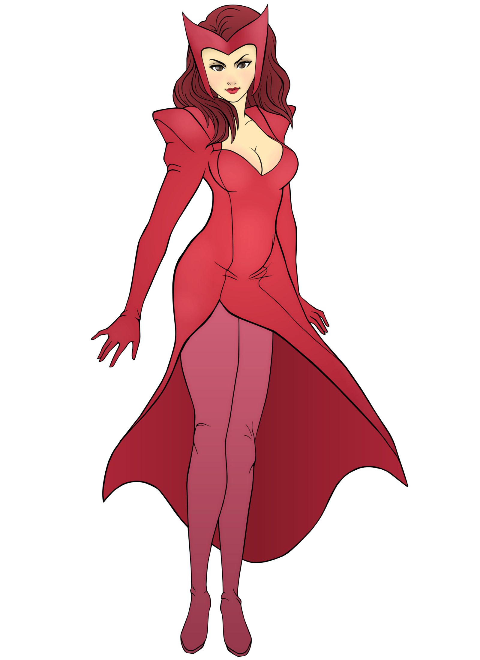 Commission: Scarlet Witch by R3dFiVe.deviantart.com on @deviantART