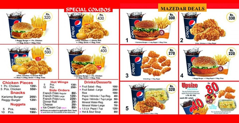 Fri Chiks Mall Road Murree Food Places In Pakistan