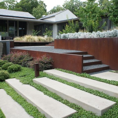 Contemporary Landscape Design Dallas The Garden Studio Pinned To By Darin