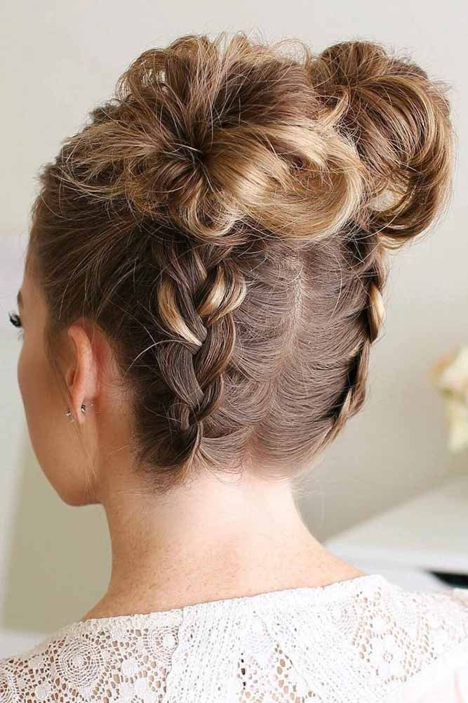 18 Charming Top Knot Hairstyles | Pinterest | Knot hairstyles, Hair ...