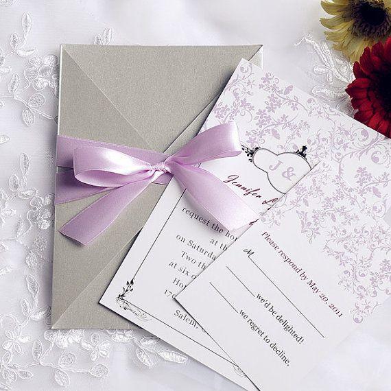 Cheap Rustic Wedding Invitation Kits: Beautiful Rustic Wedding Invitations Kits By