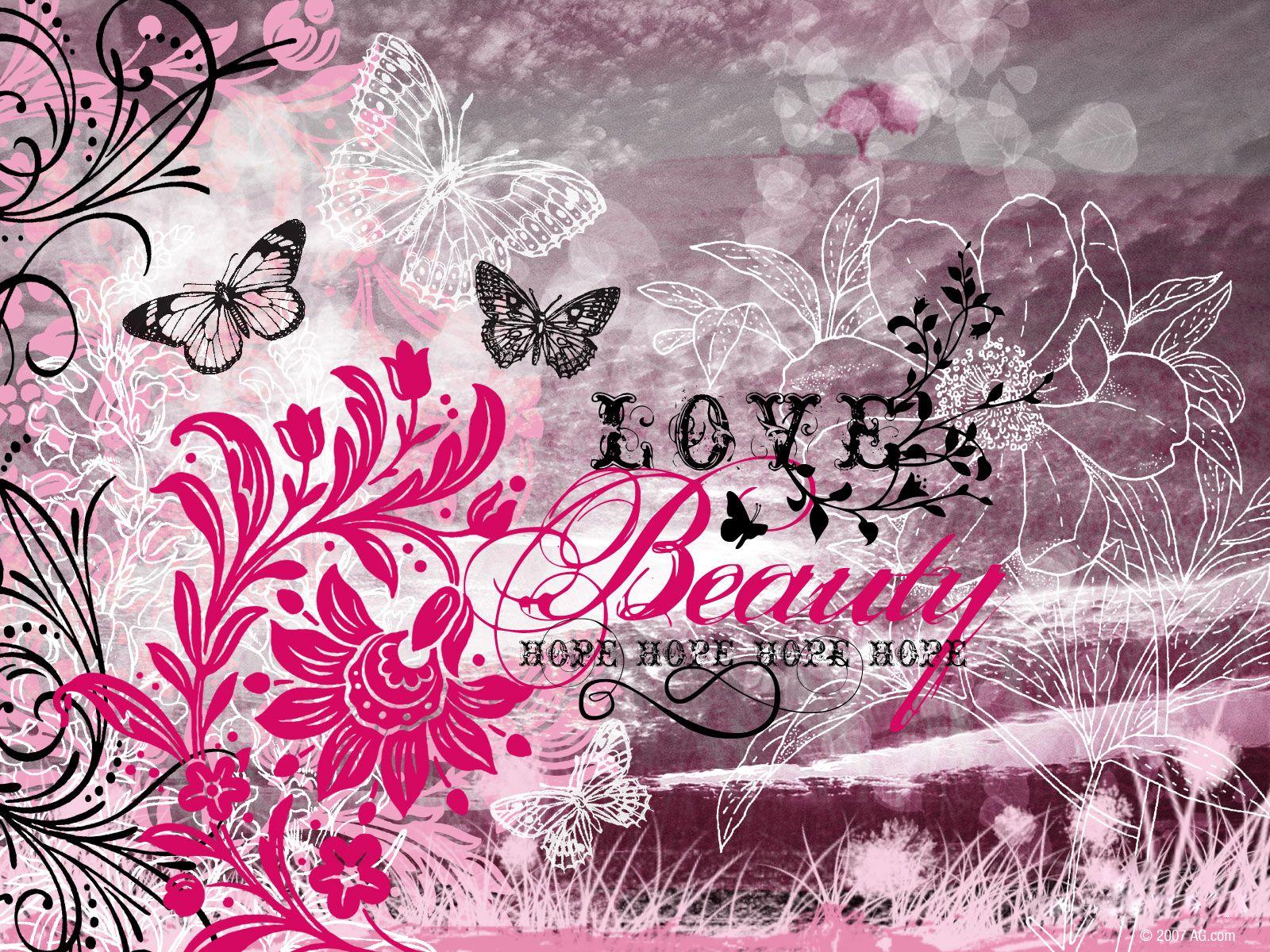 Love Beauty Hope American Greetings Wallpapers