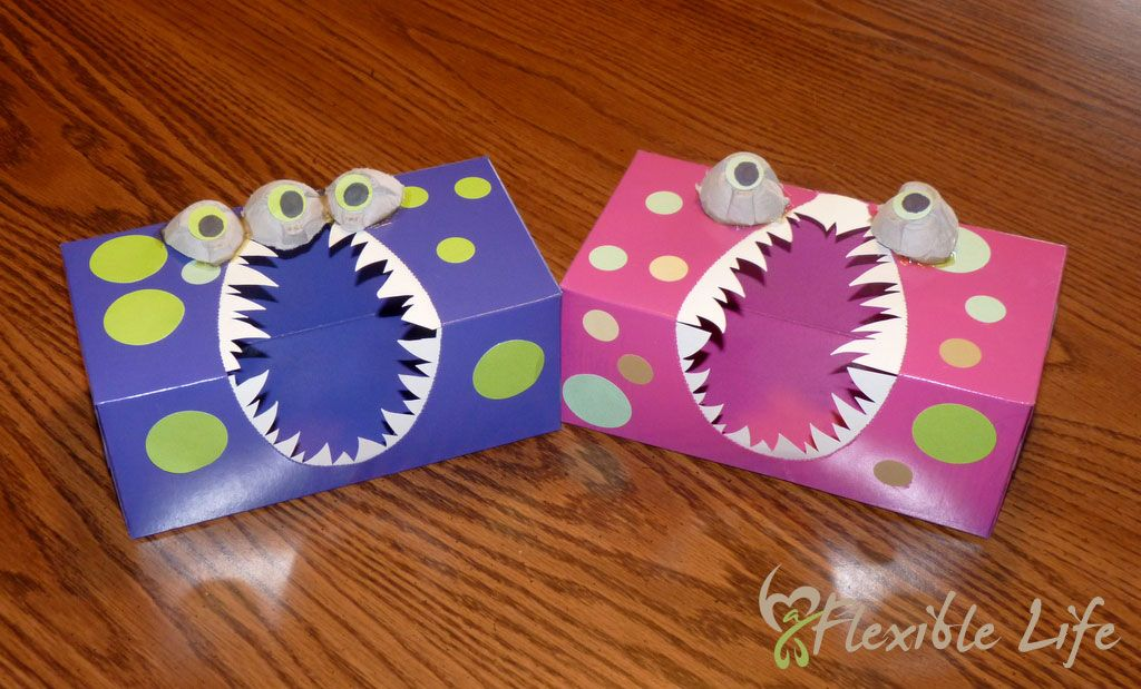 Diy valentine 39 s day card boxes made from old tissue boxes - Valentines day boxes for kids ...