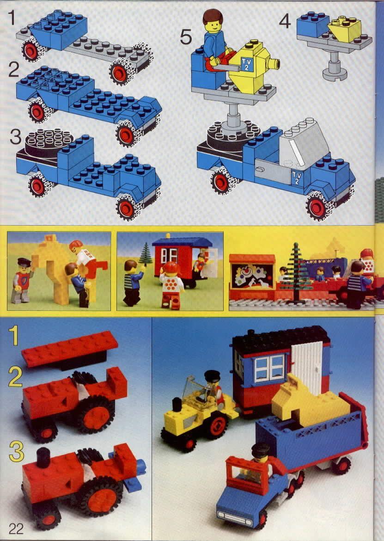 Books - LEGOLAND Idea Book Lego 6000 in 2020 | Lego ...
