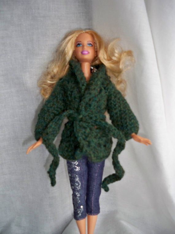 PDF crochet Pattern for Faux Cable Sweater for Fashion Dolls like ...