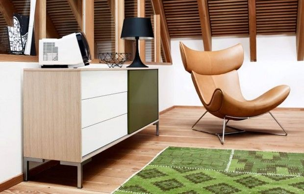 Modern Armchair Design For Home Interior Furniture, Imola Light Brown  Series By BoConcept