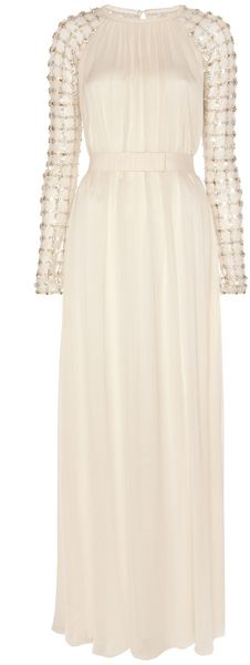 59926f5383b9 Temperley London Long Angeli Lattice Dress - Lyst