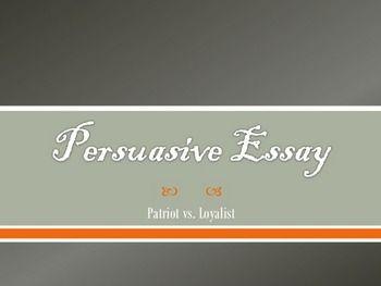 Persuasive essay on war