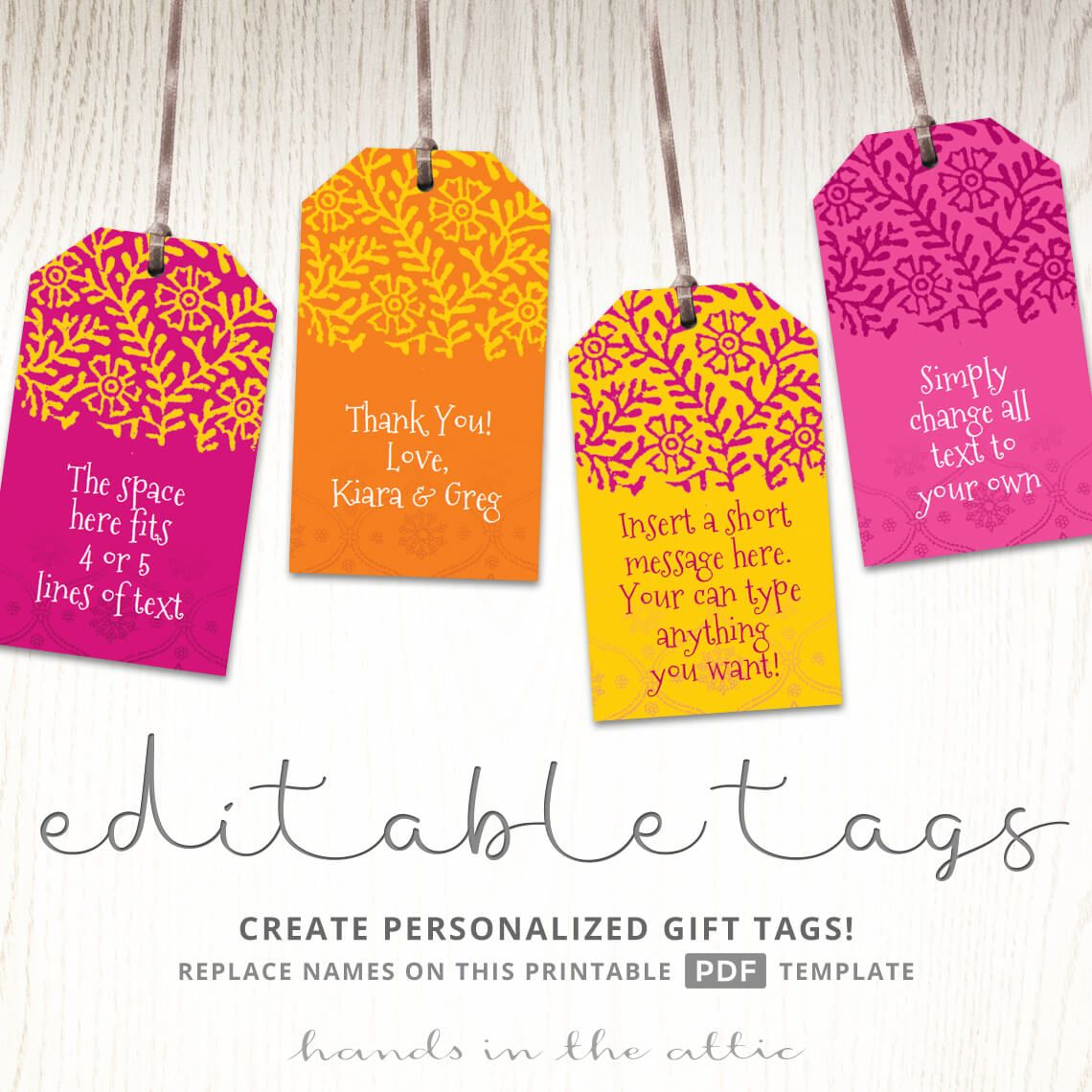 Free Printable Wedding Gift Tags: Printable Indian Wedding Gift Tags