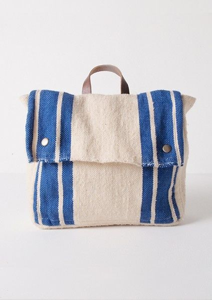 Srta Pepis Bag More Schools Bags Wool Fashion Kids Style Blue Bobo Chose Canvas Littlequirkypopup Online