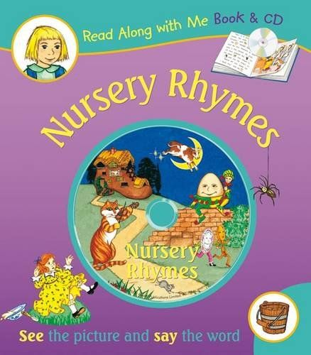 Nursery Rhymes (Read Along with Me Book and CD)