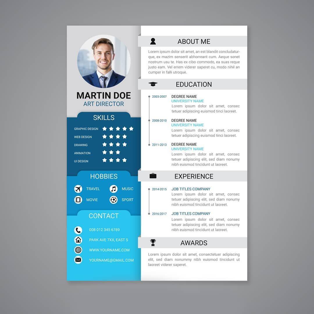 Modele De Cv En Ligne A Telecharger Et Personnaliser Avec Microsoft Word Ou Powerpoint Nouvel Emploi Job Modele Cv Telecharger Modele Cv Modele De Cv Design