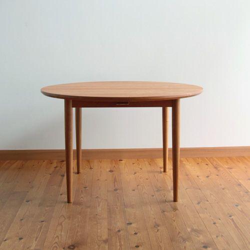 家具工房クラポ・ラウンドテーブル5248(丸テーブル)・ウォールナット・チェリー無垢材のオーダー家具