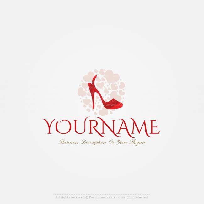 Free Logo Maker Shoes Store Logo Design Logo Maker Beauty Logo Fashion Logo