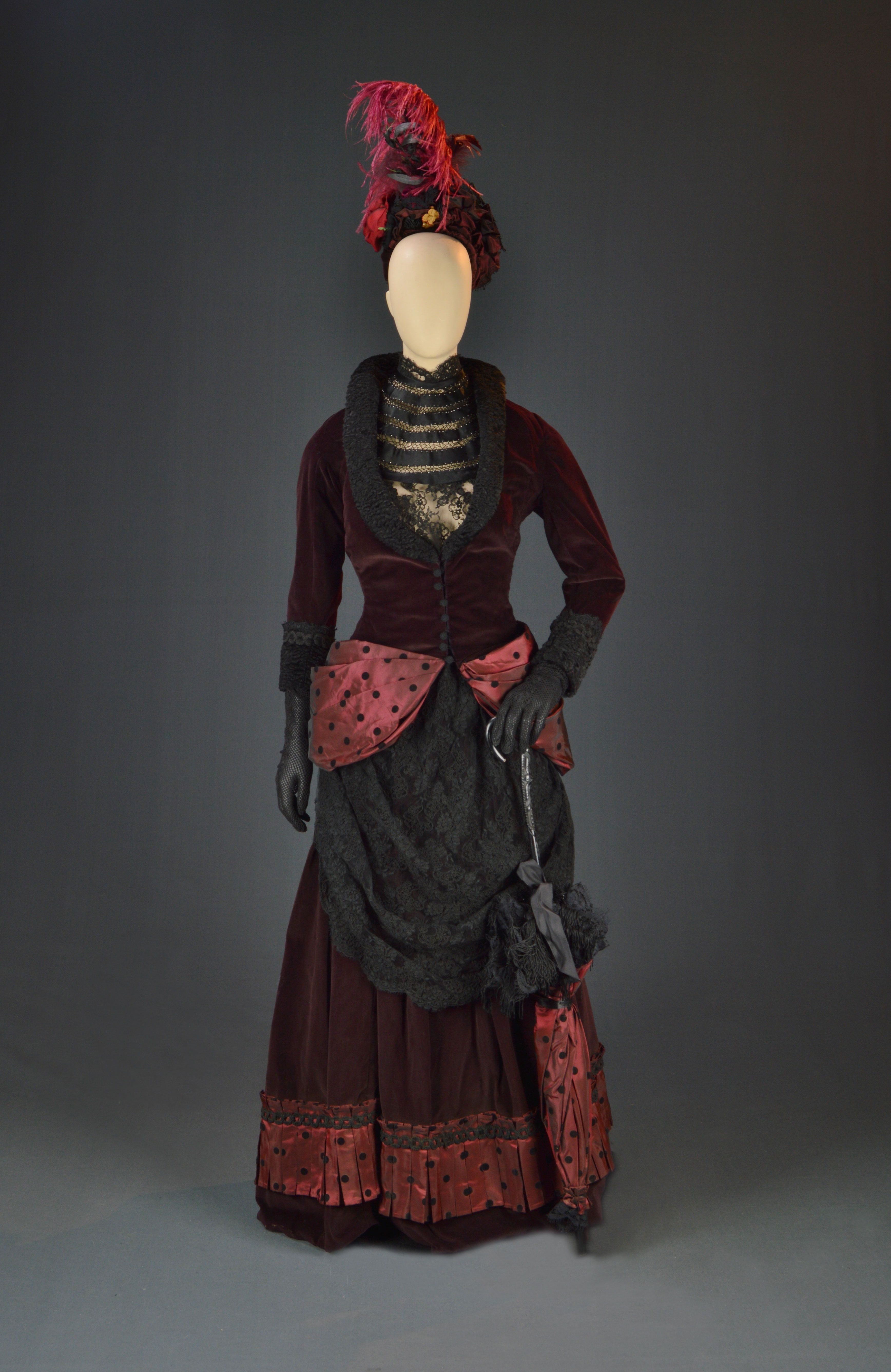 """Jenny Wright, """"Young Guns II,"""" Morgan Creek, 1990, Designed by Judy L. Ruskin, The Collection of Motion Picture Costume Design: Larry McQueen"""