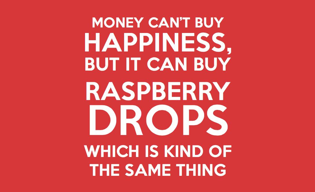 #RaspberryDropsRock