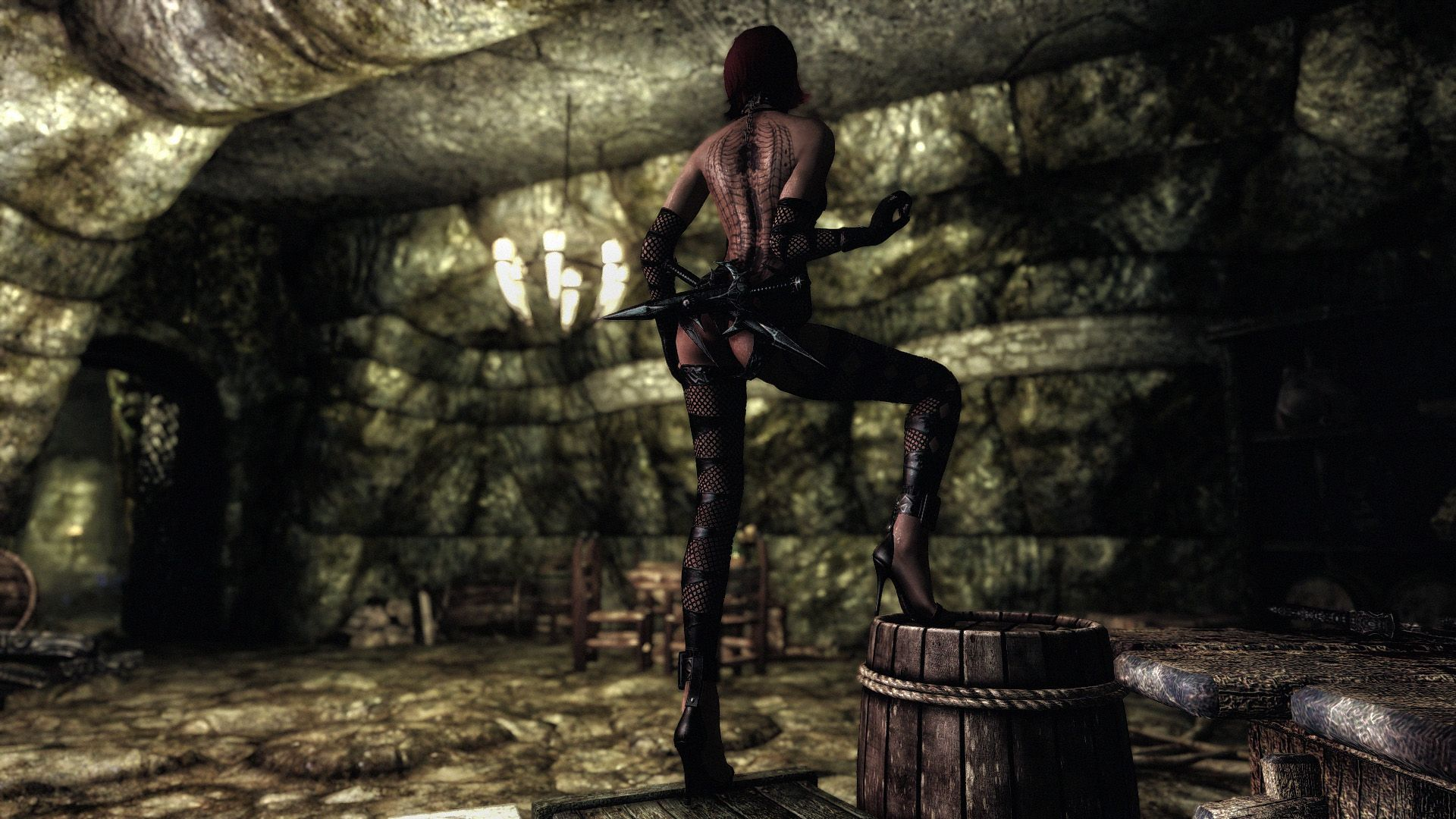Merta Assassin Armor UNP - CBBE at Skyrim Nexus - mods and community