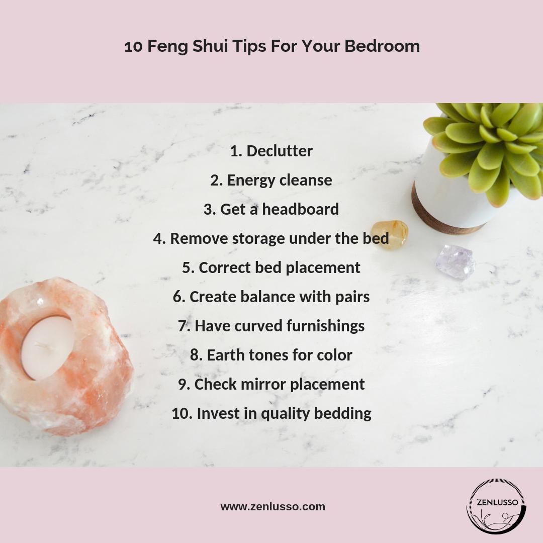10 Feng Shui Tips For Your Bedroom | Feng shui tips, Feng ...