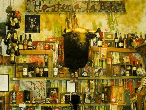En la Hostería de la bota puedes añadir un objeto a la decoración. Foto: losrinconesdf.wordpress.com