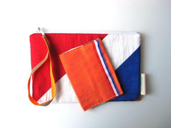 Bent u al klaar voor Koninginnedag?  Mothers day gift set travel wallet passport by BagsByTravelher, $50.00