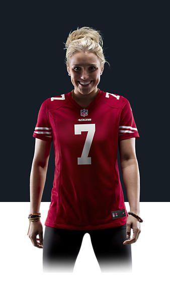 lowest price 2d76a bdfc0 NFL San Francisco 49ers (Colin Kaepernick) Women's Football ...