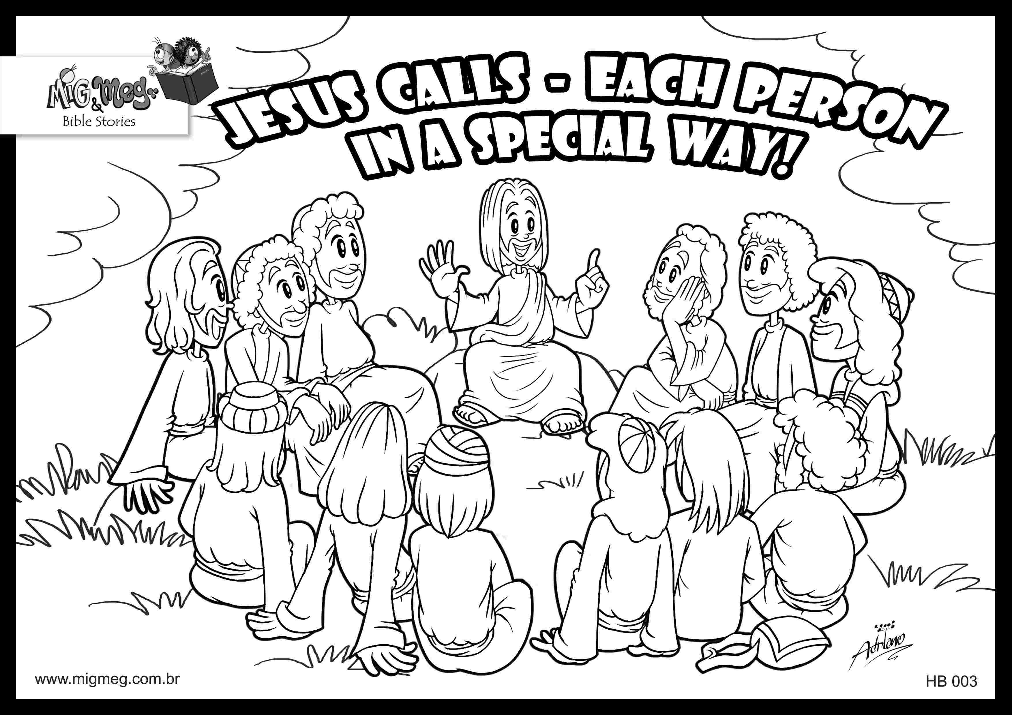 Best Printable 12 Apostles Coloring Pages For Children 999