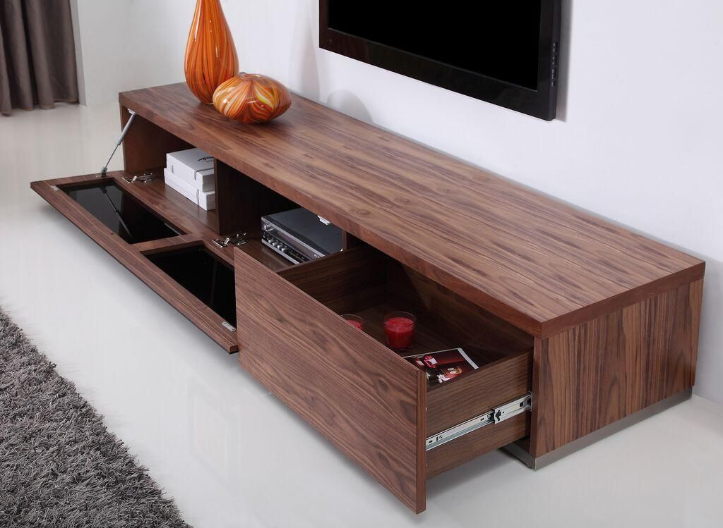 20 Photos Walnut Tv Stands Tv Cabinet And Stand Ideas Walnut Tv Stand Tv Cabinets Tv Stand