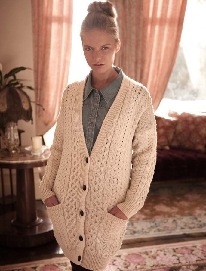 $75 Ladies Boyfriend Merino Wool Cardigan | Style | Pinterest ...