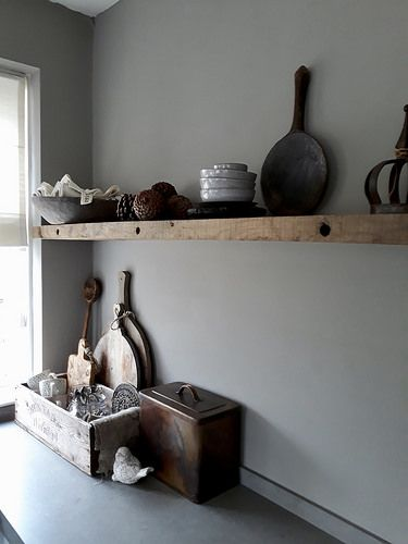 Houten Wandplank Keuken.Binnenkijken Bij Henriet En Wim Houten Wandplank Keuken