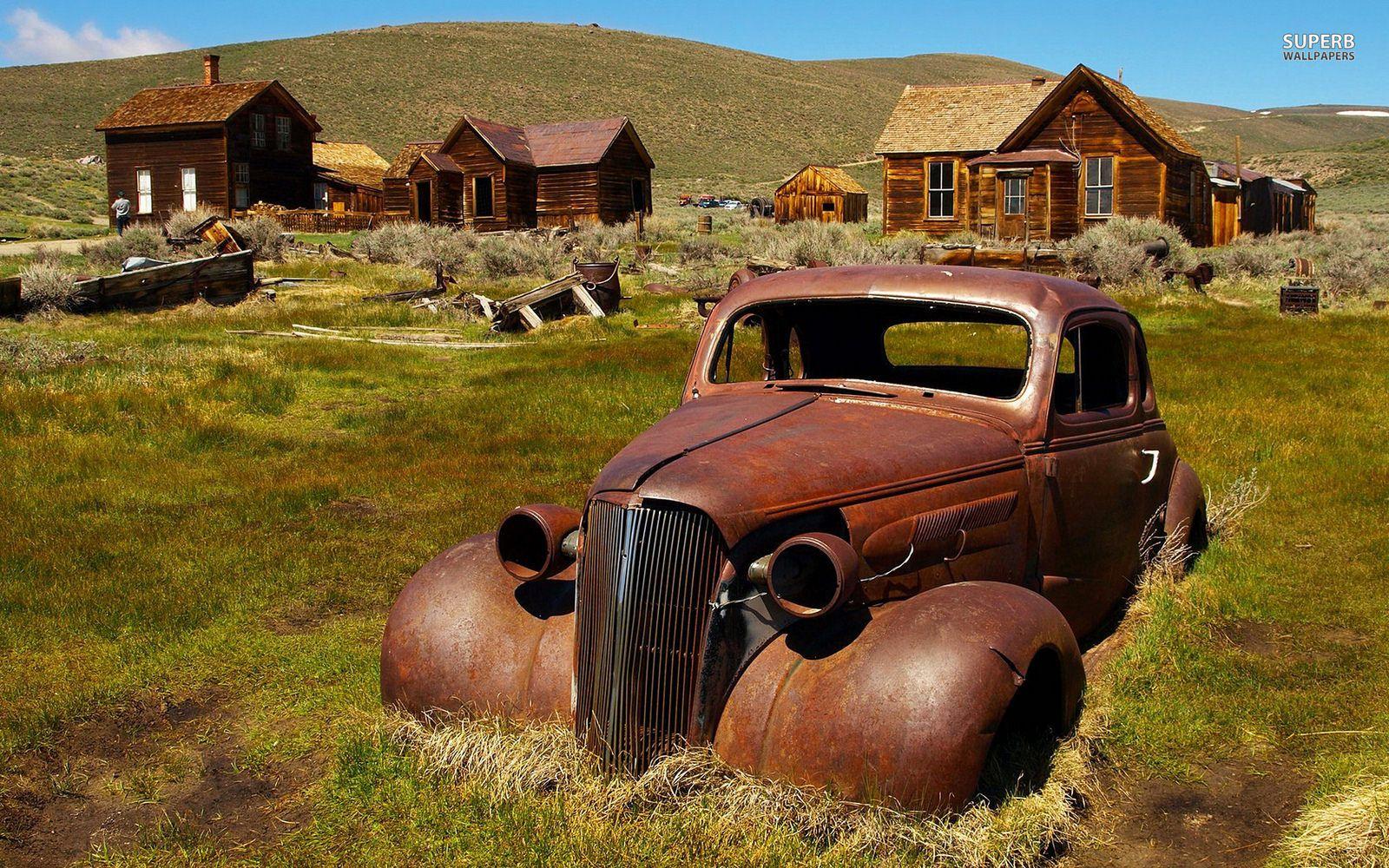 Rusty Old Car Wallpaper Pics