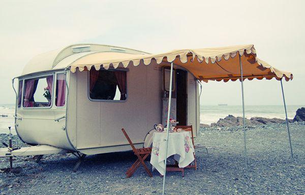 // Lovelane Caravans, Cornwall UK | bloodstre.am