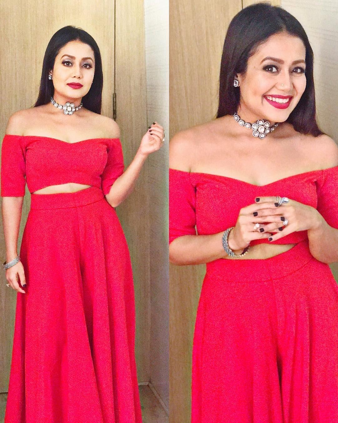 Neha Kakkar Dress indian style, Fashion attire