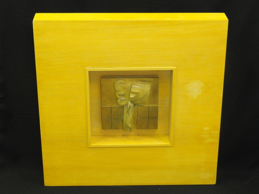MESMERIZING ABSTRACT BRUTALIST FRAMED BRONZE SCULPTURE * PAUL EVANS ERA