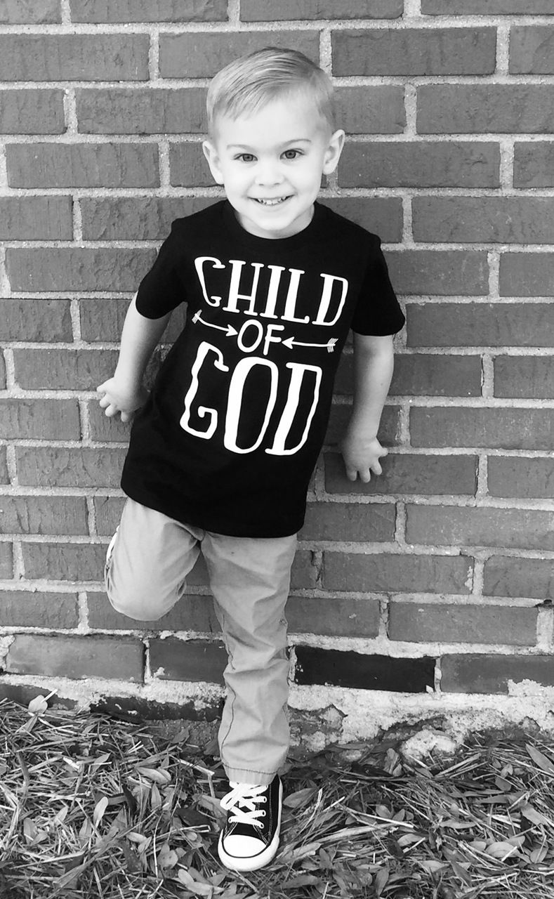 Baby Boys Clothes Child Of God Shirt Child Of God