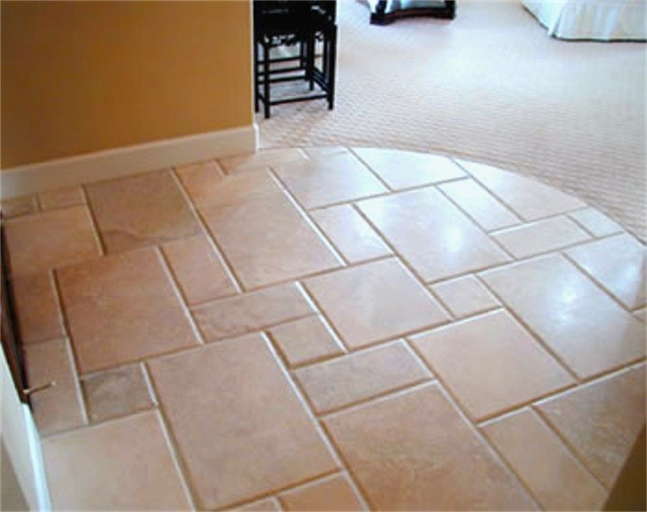Delectable Ideas Of Resilient Porcelain Tile Kitchen Floor Best Peach Color With Hopscotch Pattern And Orange