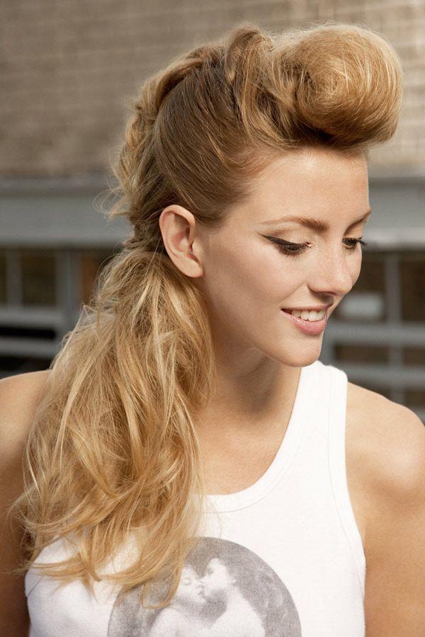 Rockabilly 3 Rockabilly Frisuren Lange Haare Einfache Frisuren Lange Haare Rockabilly Frisur